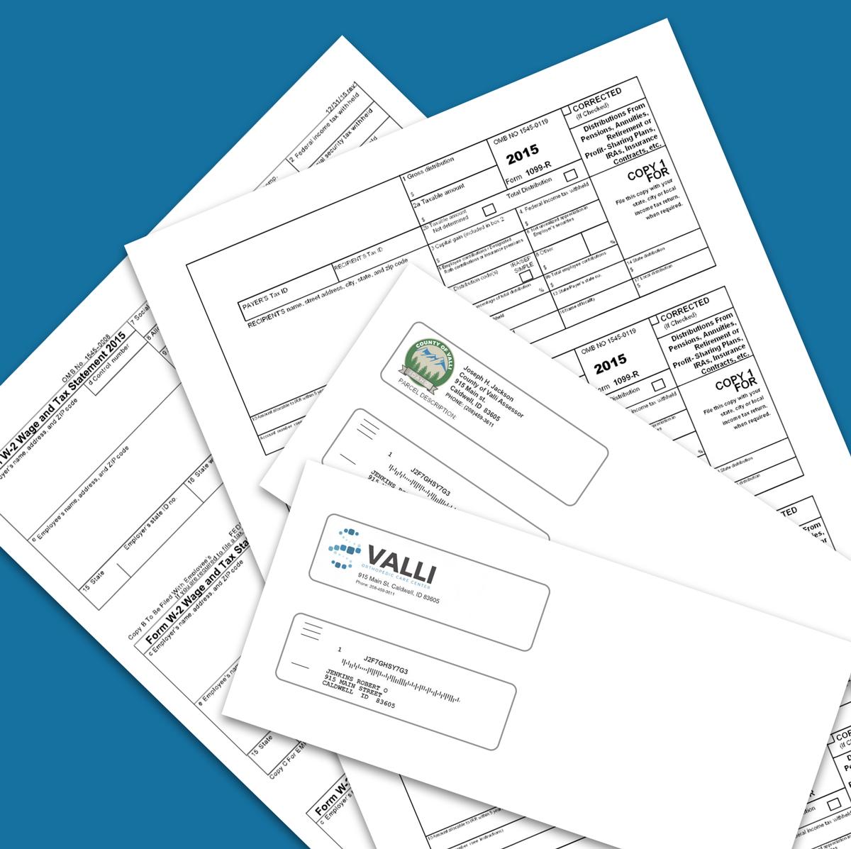 Tax Form Printing